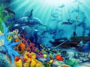рибка и океан