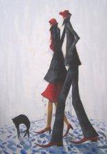 Той,тя и котката