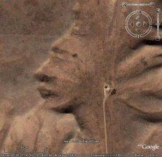 Уникално изображение на Индианец видяно с Google Earth