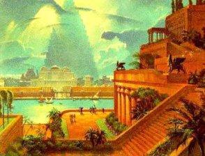Висящите градини на Семирамида: Легенда за една изчезнала ци
