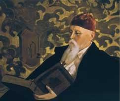 """С.Н.Р. """"Портрет Н.К.Рьорих""""  1934г."""