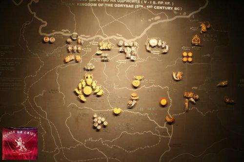 Карта на съкровищата в българия