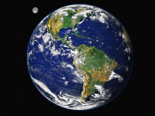 Земята гледана от Космоса