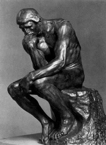 Огюст Роден (1870 - 1917) - Мислителят